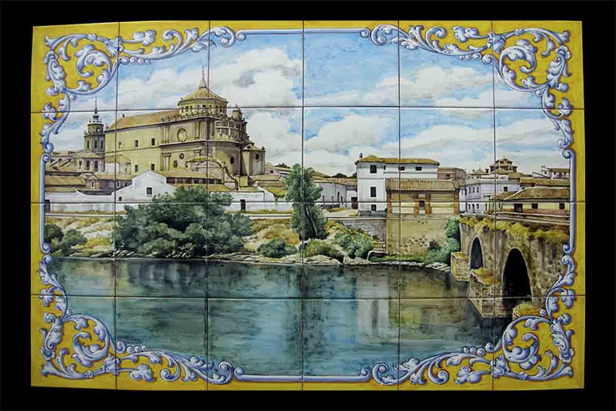 Azulejos pintados a mano Ceramica de Talavera